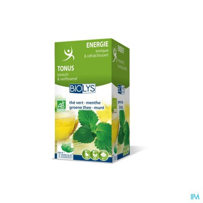 Biolys Groene Thee-munt Bio Tea-bags 20