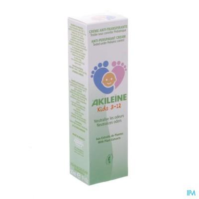 Akileine Kids 3-12 Creme A/transpiratie Tube 50ml