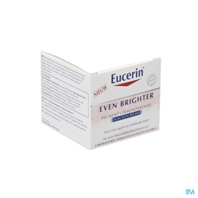 Eucerin Even Brighter Nachtcr Pigment.vermind.50ml