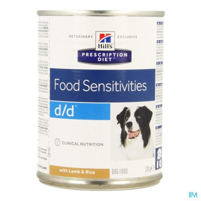 Hills Prescrip.diet Canine Dd l&rice 370g 8002zz