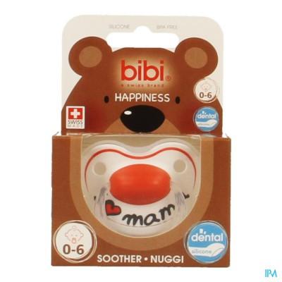 Bibi Fopspeen Hp Dental I Love Mama 0-6m