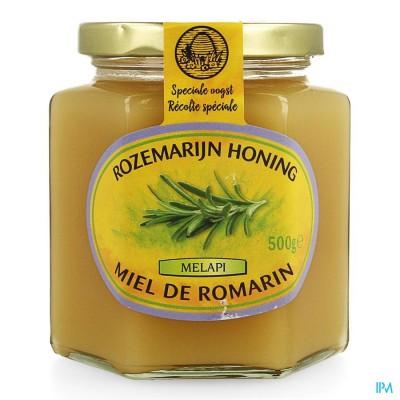 Melapi Honing Rozemarijn Zacht 500g 5532