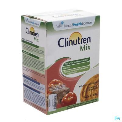 Clinutren Mix Runds Hongaars Zakje 6x75g