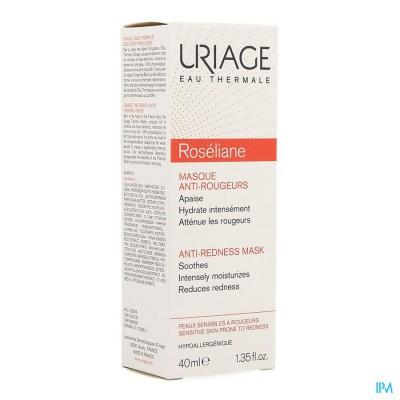 Uriage Roseliane Masker Verzachtend Tube 40ml