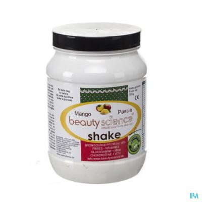 Beauty Science Proteine Shake Mango-passievr.700g