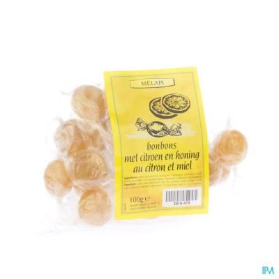 Melapi Citroen-honing Bonbons 100g 5370
