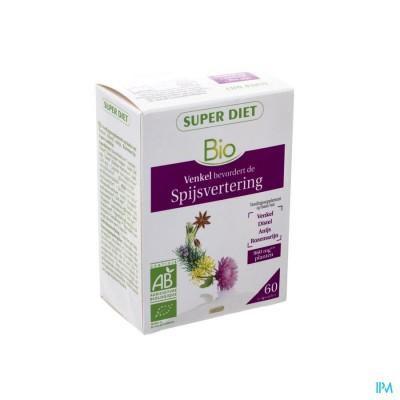 Super Diet Complexe Welzijn Lever Bio Caps 60