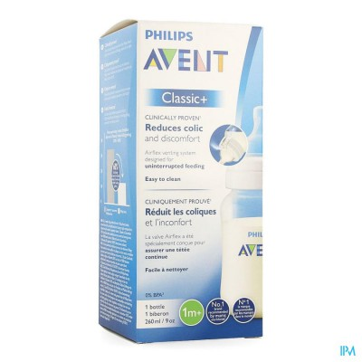 Avent Zuigfles Classic+ Pp 260ml