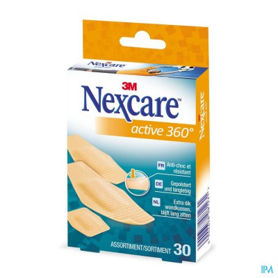 Nexcare 3m Active 360 Assortiment Strips 30
