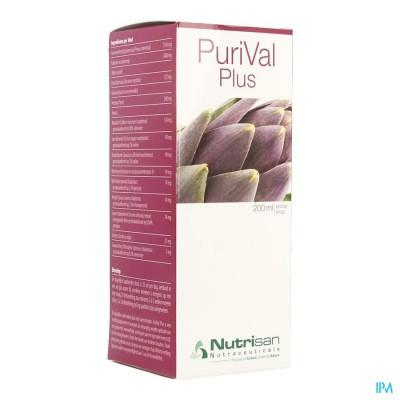 Purival Plus Siroop 200ml Nutrisan