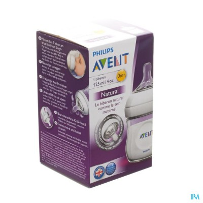 Avent Zuigfles Natural 125ml