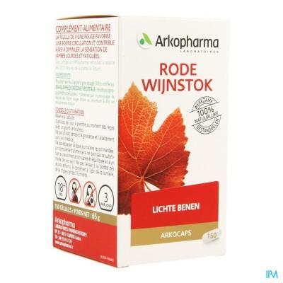Arkocaps Vitiven Rode Wijnstok Caps 150