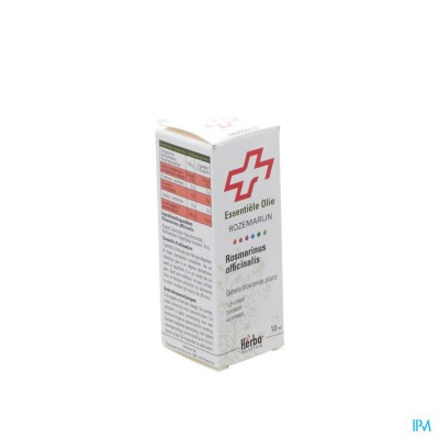 Rozemarijn Off.cin.plant Herba Helv.ess Olie 10ml