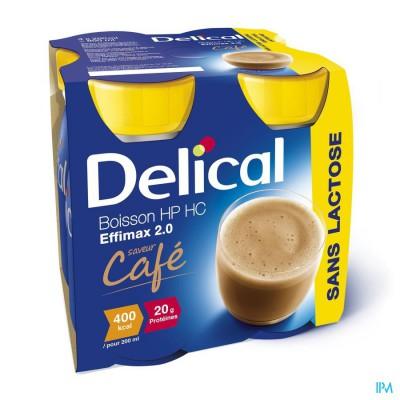 Delical Effimax 2.0 Koffie 4x200ml