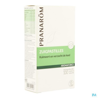 Aromaforce Zuigtabletten Ess Olie Blister 3x7