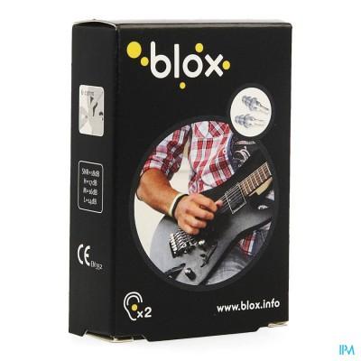 Blox Muziek Oordoppen Met Filter 1 Paar