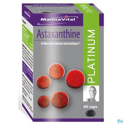 Mannavital Astaxanthine Platinum Caps 60