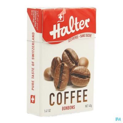 Halter Bonbon Koffie Zs 40g