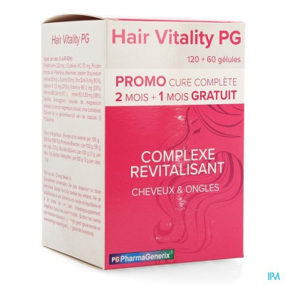 Hair Vitality Pg Pharmagenerix Caps 3x60 Promo