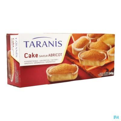 Taranis Mini Cake Abrikoos 240g (6 Stuks) 4656