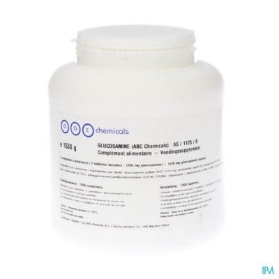 Glucosaminesulfaat 600g 2kci Comp 1200 Abc