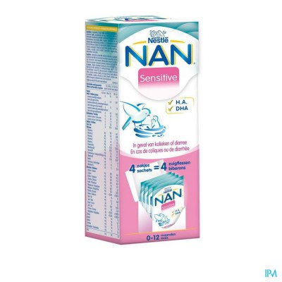 Nan Sensitive Melkpoeder 4x26,2g