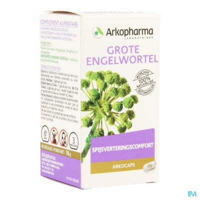 Arkocaps Engelwortel Plantaardig 45