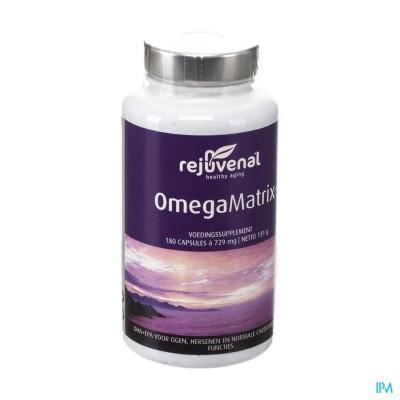 Omegamatrix Haaienleverolie Nf Caps 180