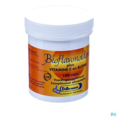Bioflavonoid Caps 100x1000mg Deba