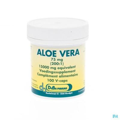 Aloe Vera 200:1 V-caps 100x75mg Deba