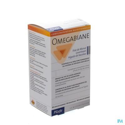 Omegabiane Levertraan Caps 80