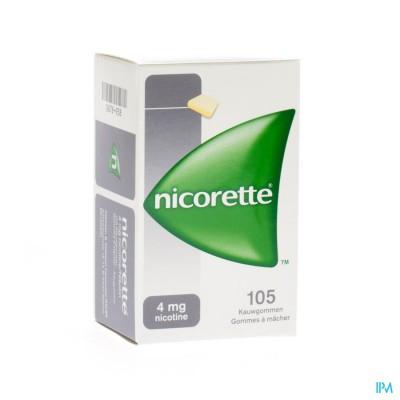 Nicorette Kauwgom 105x4mg