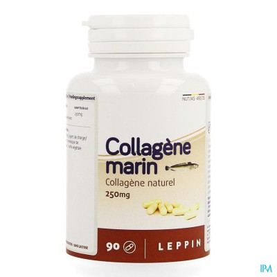 Leppin Collagene Marin Pot Caps 90