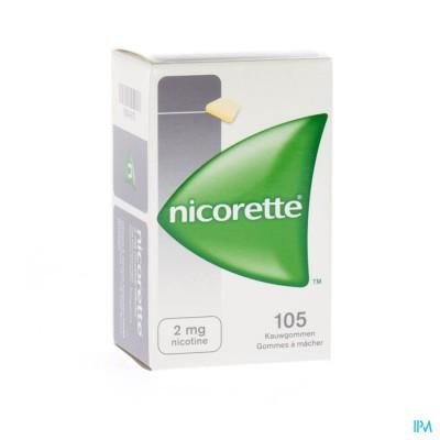 Nicorette Kauwgom 105x2mg