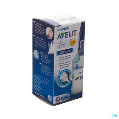Avent Zuigfles Classic+ Pp 125ml