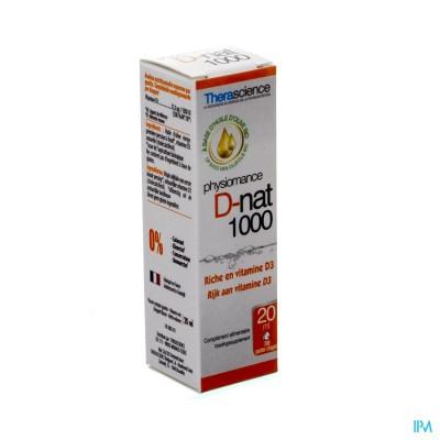 D-nat 1000 Fl Gutt 20ml Physiomance Phy269
