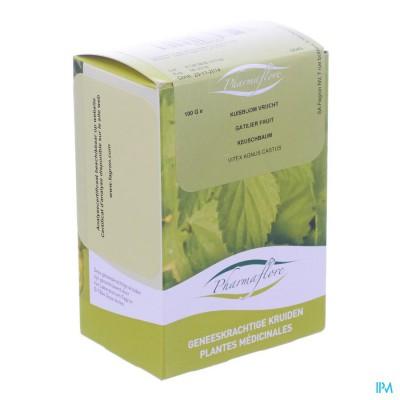 Kuisboom Vrucht Doos 100g Pharmafl