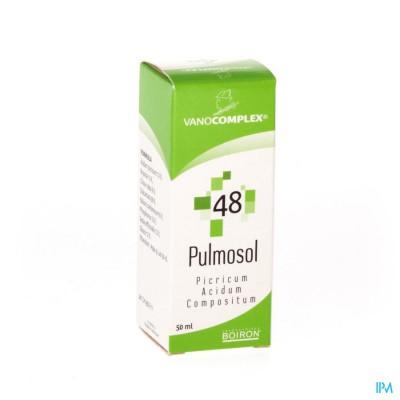 Vanocomplex N48 Pulmosol Gutt 50ml Unda