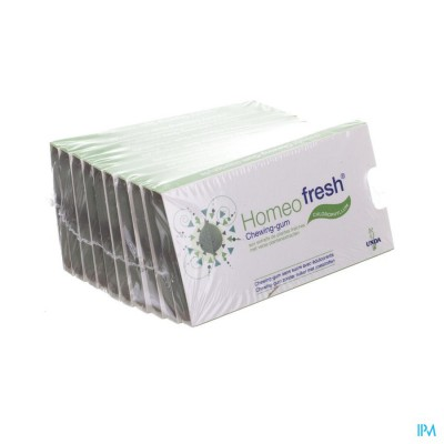 Homeofresh Chew-gum Bioactivum Chloroph. Zs 10x12