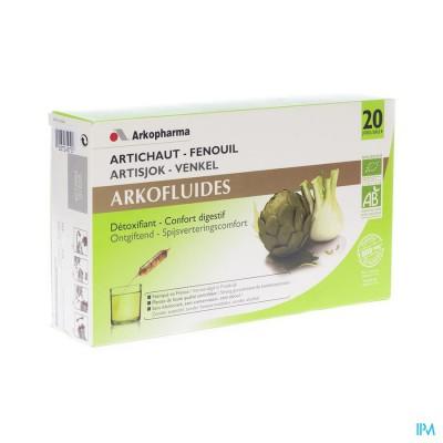 Arkofluide Artisjok Amp 20x15ml