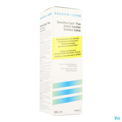 Bausch Lomb Sensit. Eye Saline 360ml
