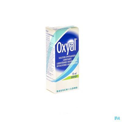 Oxyal Lubrifierende Oogoplossing 0,15% 10ml