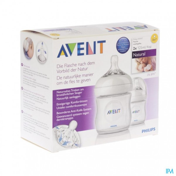 Avent Zuigfles Duo Natural 125ml