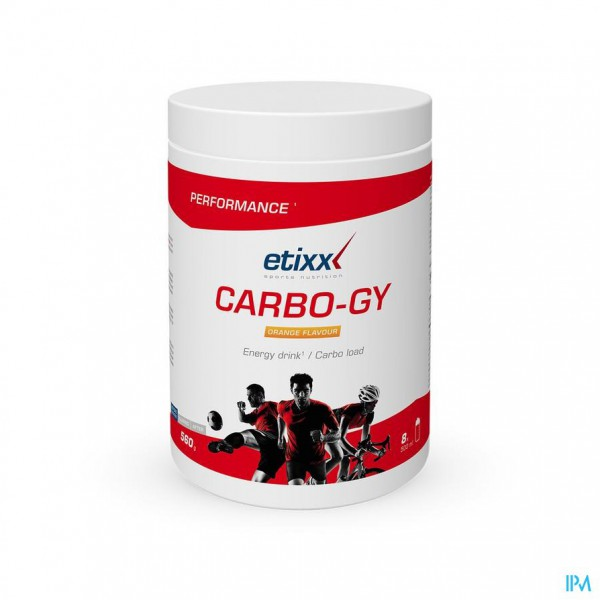 Etixx Carbo Gy Orange Pdr Pot 560g