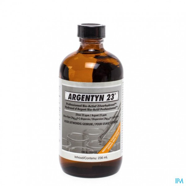 Argentyn 23 Polyseal Bio-act. Zilverhydros 236ml