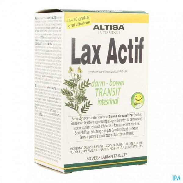 Altisa Lax Actif Caps 45+15 Gratis