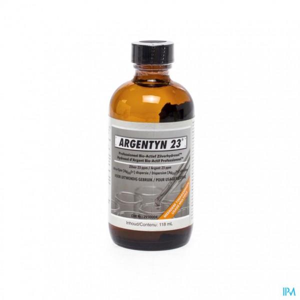 Argentyn 23 Polyseal Bio-act. Zilverhydros 118ml