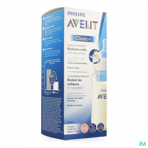 Avent Zuigfles Classic+ Pp 330ml