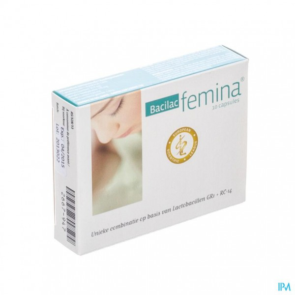 Bacilac Femina Blister Caps 10