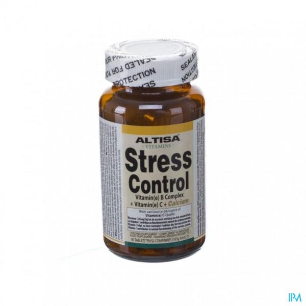 Altisa Stress Control B Complex Tabl 90